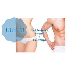 Pack Radiofrecuencia corporal + Presoterapia