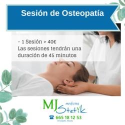 Sesión Osteopatía