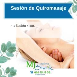 Sesión de Quiromasaje